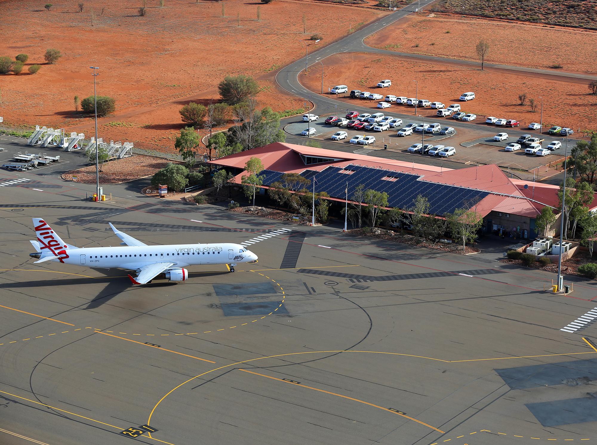 Airport at Ayers Rock