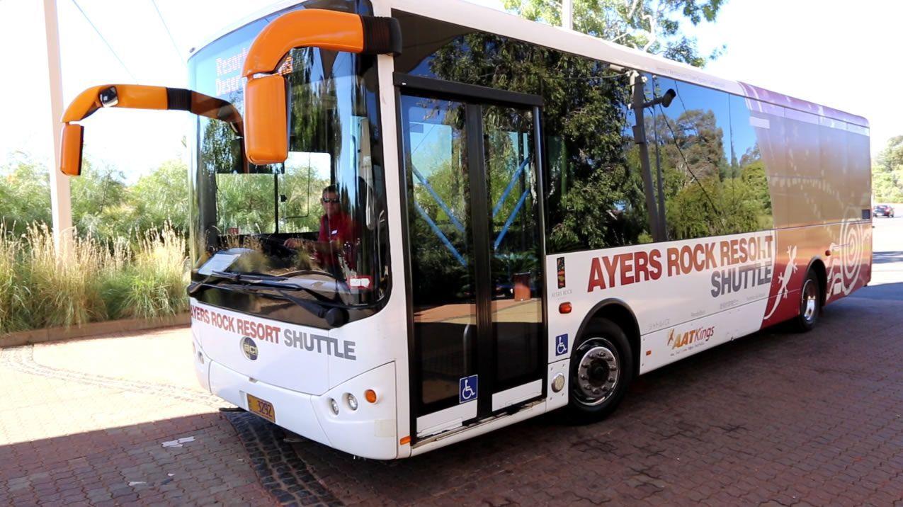 Shuttle at Ayers Rock Resort