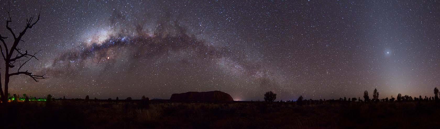 Astronomy at Uluru