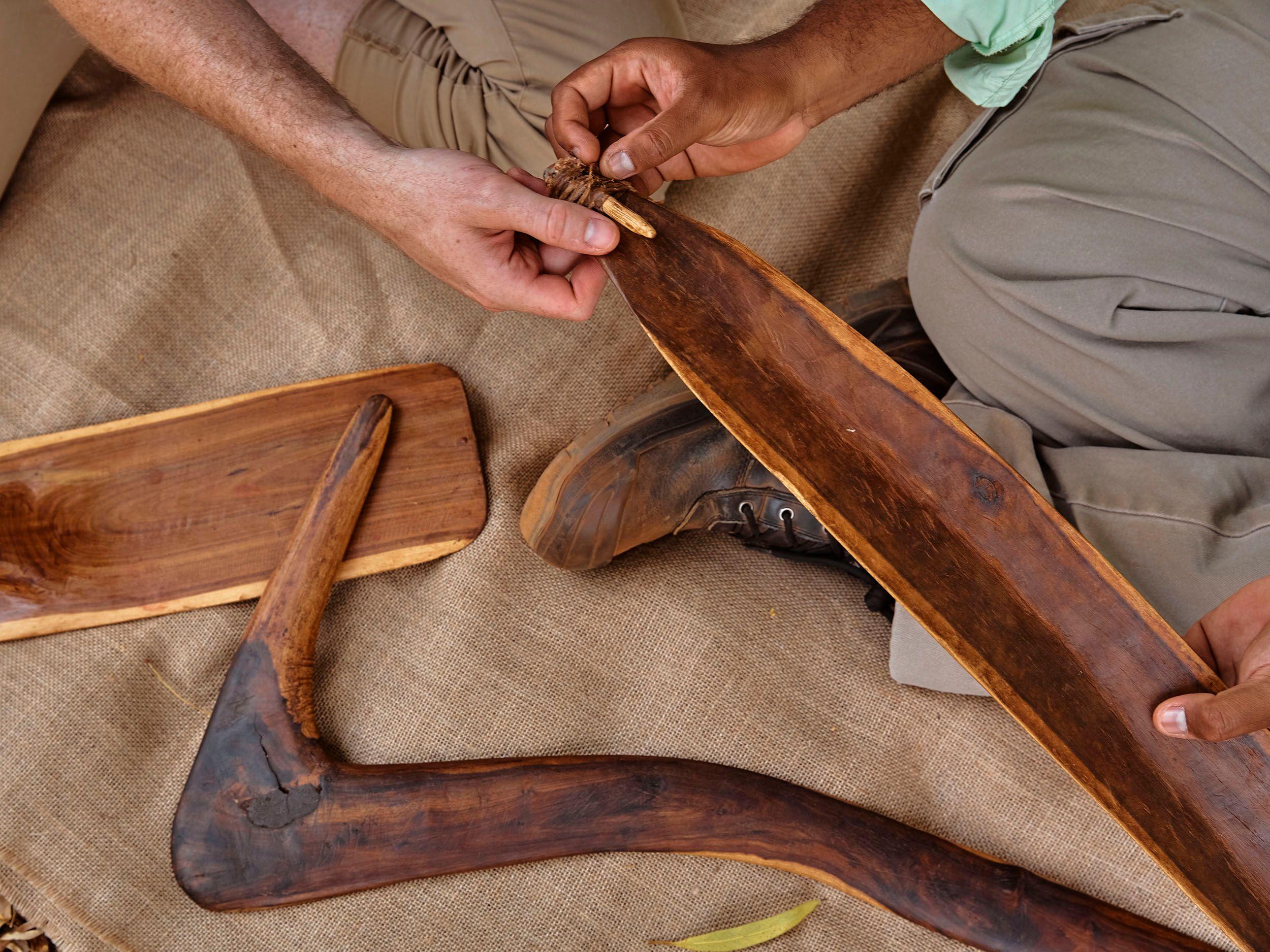 Aboriginal traditional tools