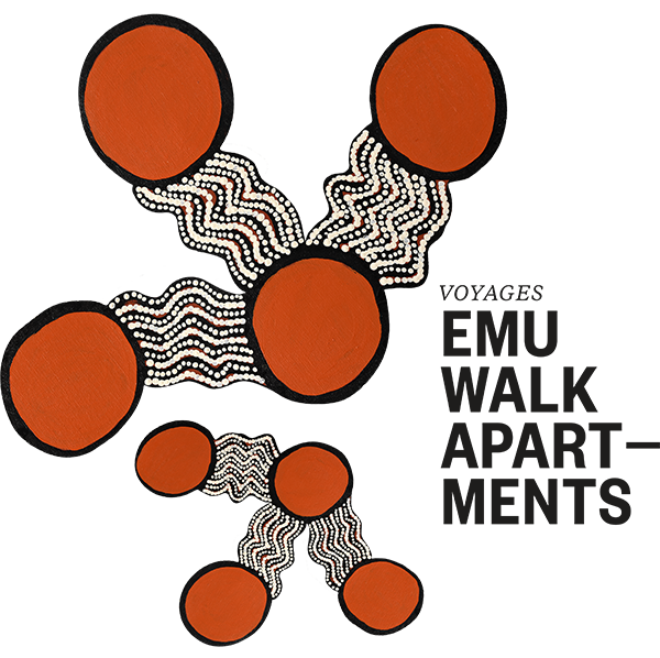 Emu Walk Apartments logo