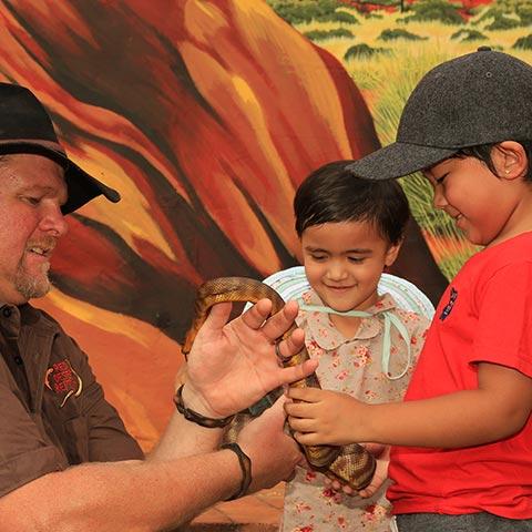 Red Desert Reptile Danny Children