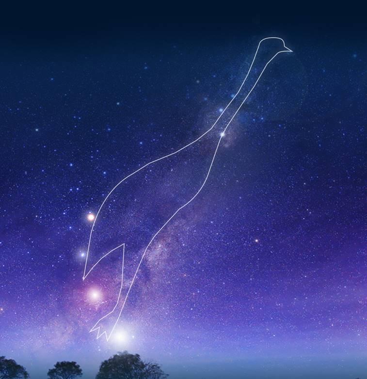 Emu in the Sky constellation
