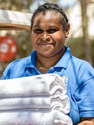 Ayers Rock Resort staff member