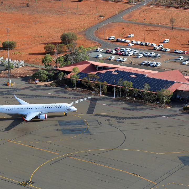 Airport at Ayers Rock