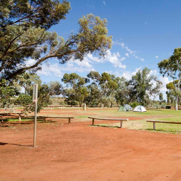 Ayers Rock camp ground