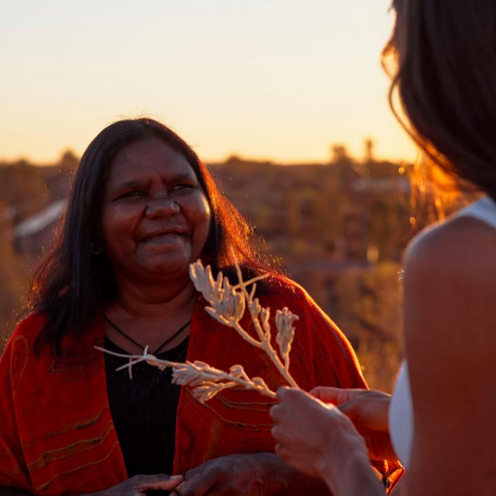 An Australian Aboriginal woman