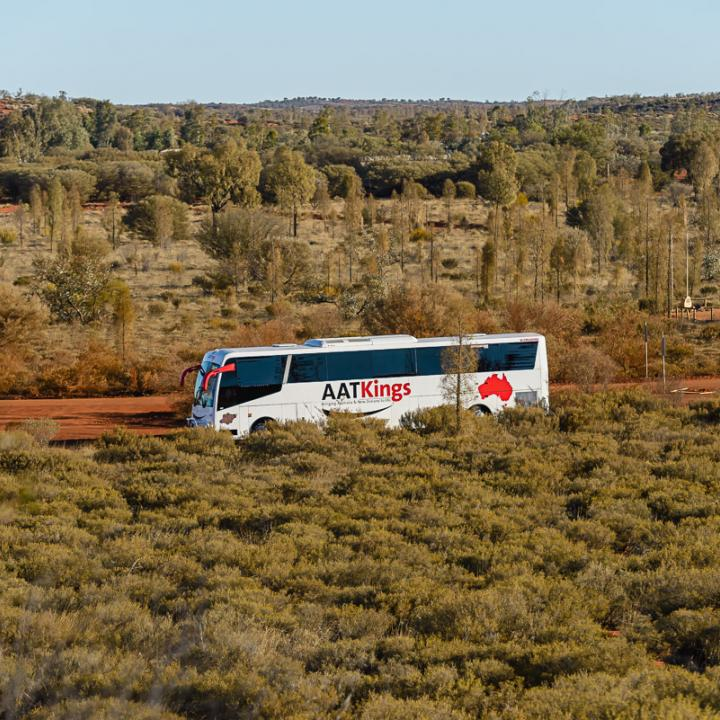 bus in the outback