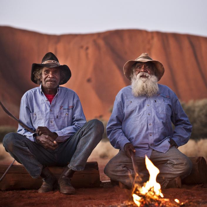two indigenous men