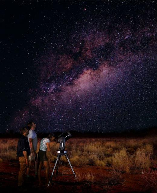 Astro Tour at Ayers Rock