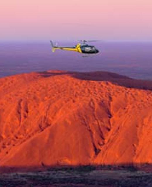 experiences PHS helicopter uluru