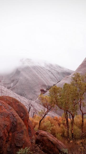 cliff-face of Uluru