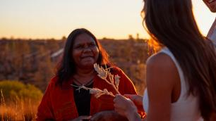 an aboriginal woman