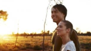a couple in the outback