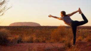 yoga in the outback